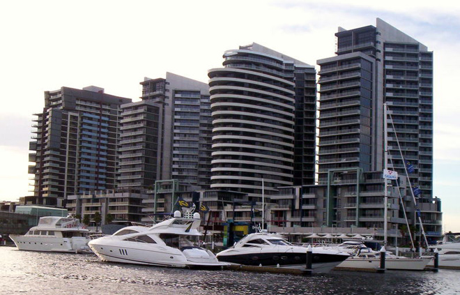 Docklands is commonly referred to as a ghost town