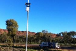 A solar monitoring station
