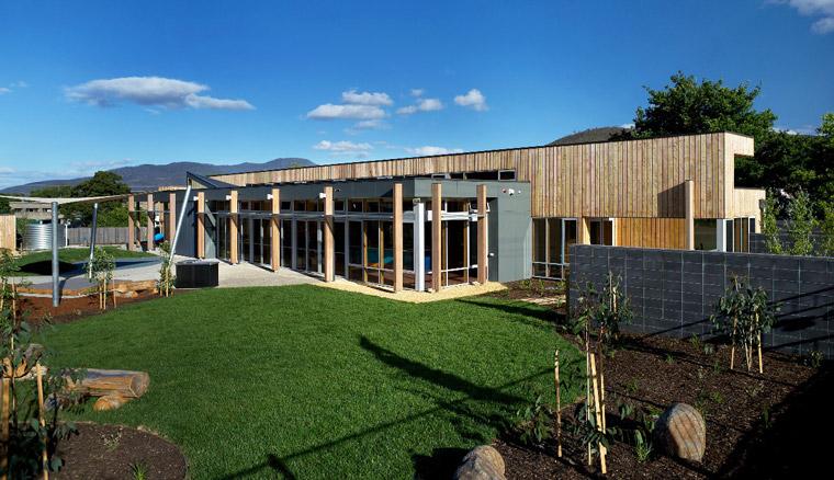 Ptunarra Child Family Centre. Image: Ray Joyce