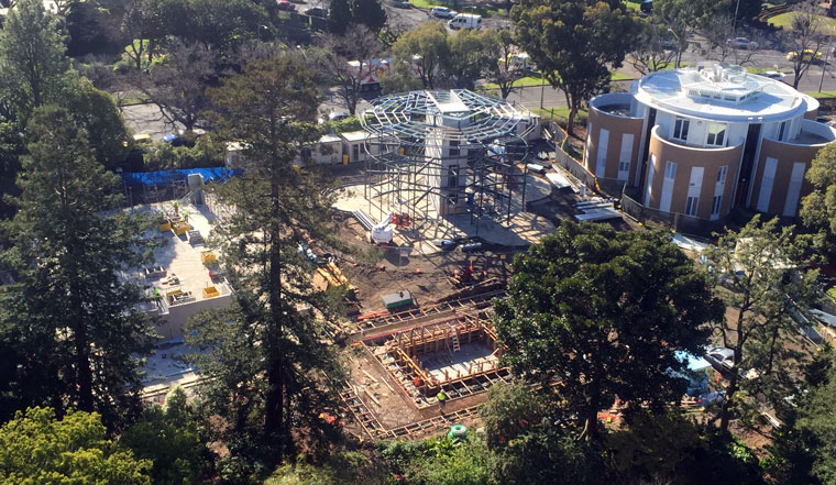 The construction site