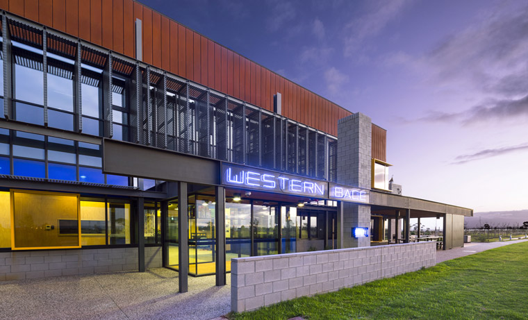 The Western Business Accelerator and Centre for Excellence. Image Alice Hutchison.