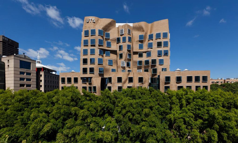 UTS's Dr Chau Chak Wing Business School. Image: Andrew Worssam
