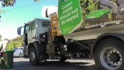 A Moreland waste truck
