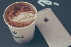 Coffee and iPhone http://barnimages.com/