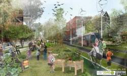 A vision of the future? A medium density