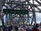 group walking story bridge brisbane