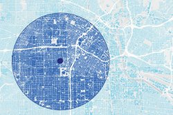How cities are structured is an important determinant of the urban heat island effect.