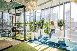 Allegro Group office, designed by Workplace Solutions, Warsaw, Poland