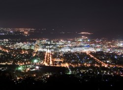 Canberra City Centre, View from Mount Ainslie, Australian Capital Territory. Image: Ryan Wick