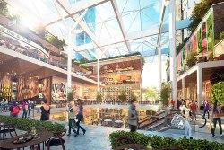 Concept plan for Macquarie centre, Sydney