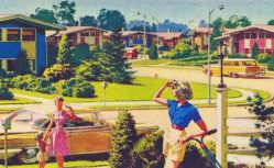 Suburbanisation was at first the escape route of Victorian middle classes from hellfire industrialism….=imperfect as we may now see it, liberation it was.