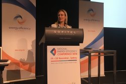 NSW minister for environment Gabrielle Upton at the National Energy Efficiency Conference 2018