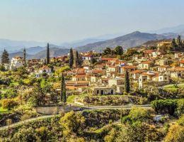Cyprus hillside nature
