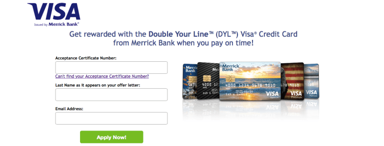 Merrick Bank Double Your Line