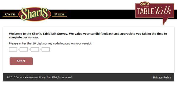 Shari's Survey