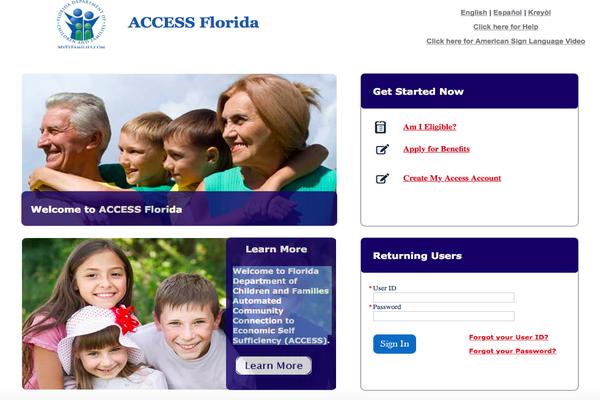 MyFlorida Access
