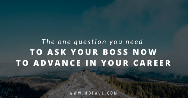 Ask Your Boss for Advance