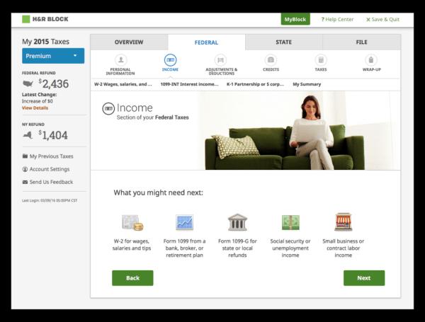H&R Block Emerald Prepaid MasterCards