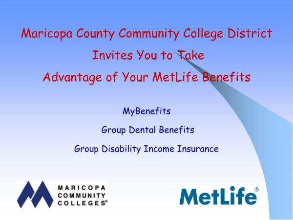 Metlife MyBenefits