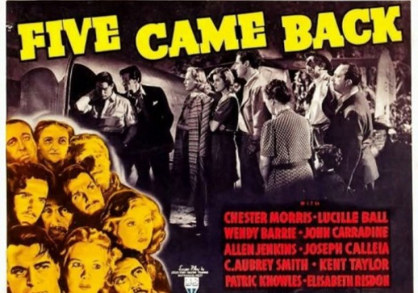Image result for five came back 1939