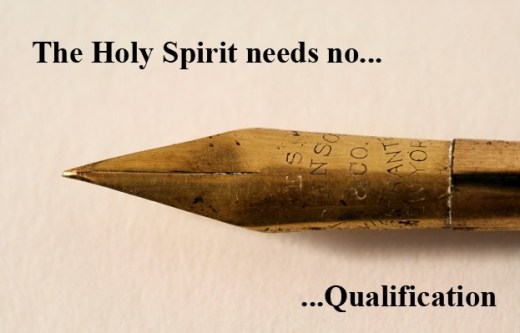 Don't qualify the Holy Spirit