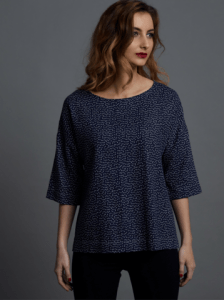Drop Sleeve top by The Avid Seamstress