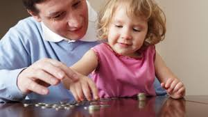 Financial success - teaching your child about money image