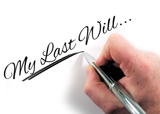 The Financial Plights of Adulthood - writing a will image