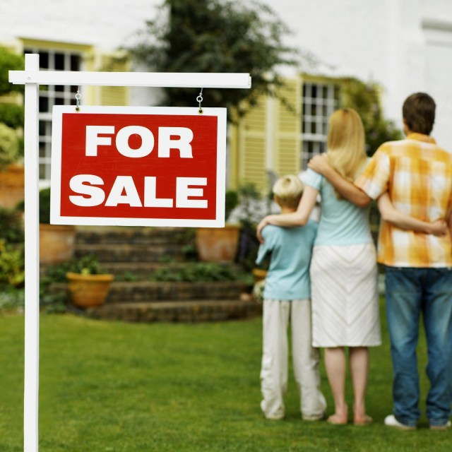 Why teaching your children responsible finance is important - house for sale image