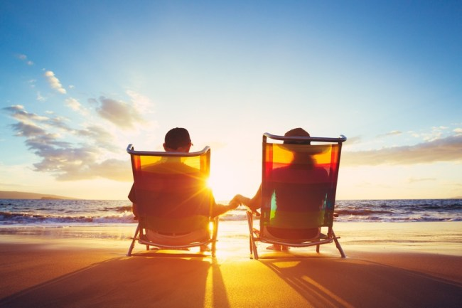 How to cut cost and save during retirement - happy retirement couple image