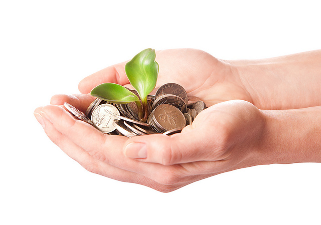 You Could Be Entitled To These... - money growing in your hands image