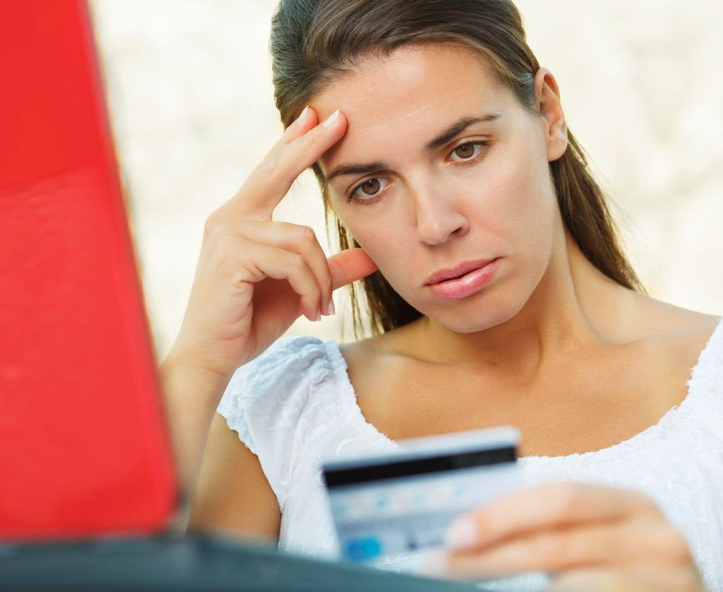 Worried About Missing A Credit Card Payment? - money worries image