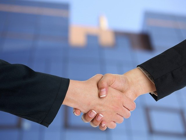 Everything You Can Do To Improve Your Business Public Image - handshake image