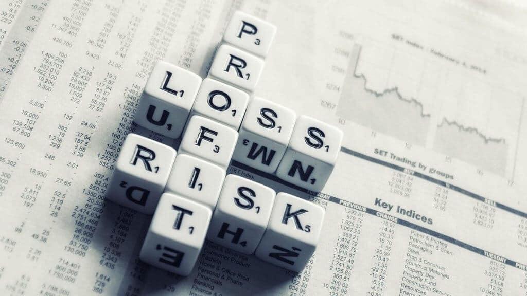 a diagram showing risks vs rewards selling puts