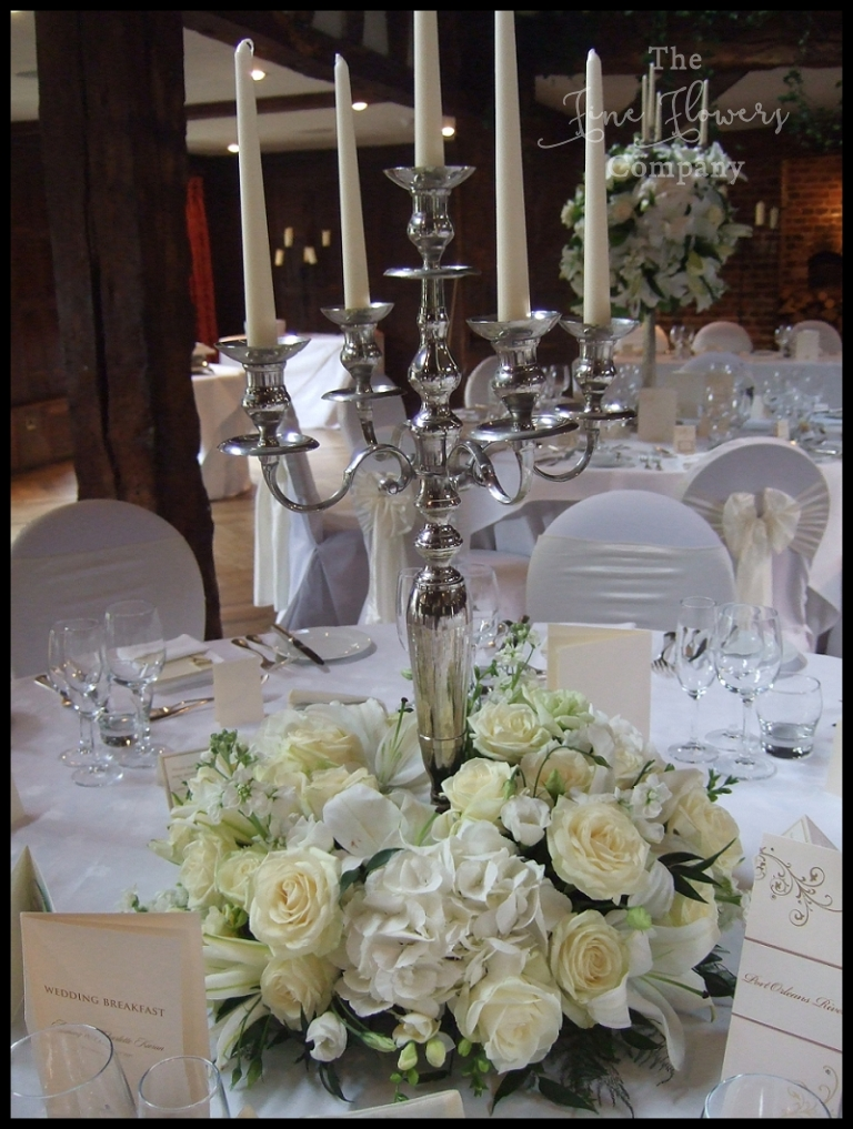 Great Fosters White Wedding Flowers
