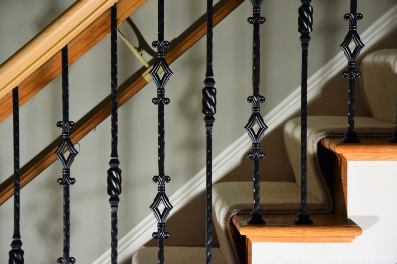 Iron balusters installed near Midlothian Va (6)