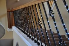 knee wall Iron Balusters in Richmond Va (8)