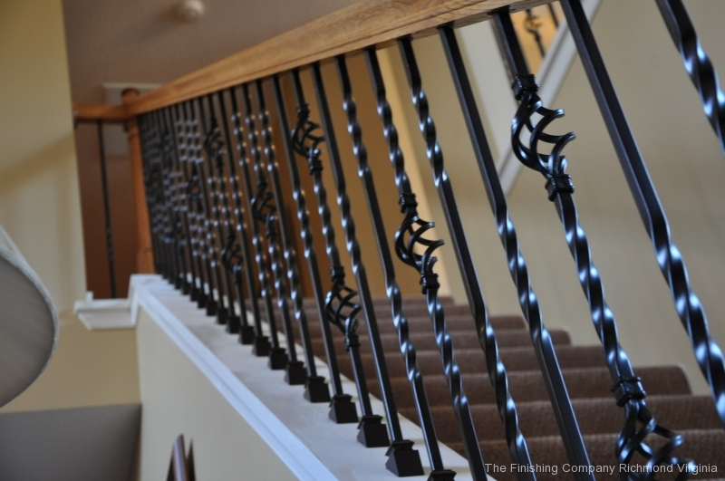 knee wall Iron Balusters in Richmond Va (8)