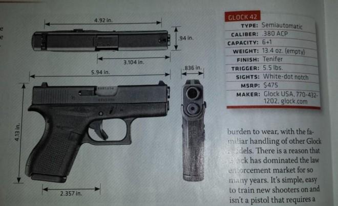 glock 42 photo