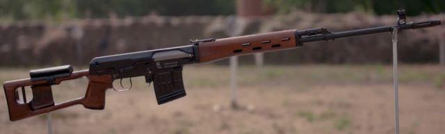 Kalashnikov Concenrn's TG3 Rifle SVD Chambered in 9.6x53mm Lancaster (6)
