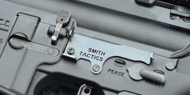 Smith Tactics Lightning Automatically Actuated AR-15 Bolt Release System (2)