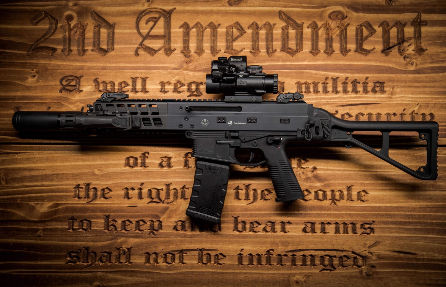Potd B Amp T And The Second Amendment To The United States