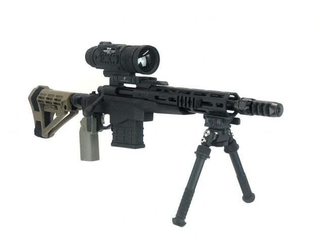 PTS536 mounted on a Remington 700CP