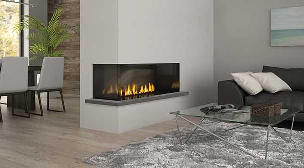 Regency Gas Fireplace Two Sided Regency Chicago Corner