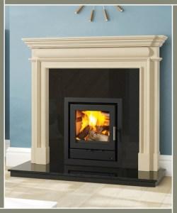 Davenport Fireplace
