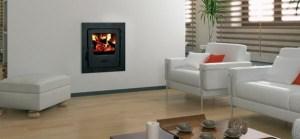 Firebird Multifuel Backboiler inset stove 16kw