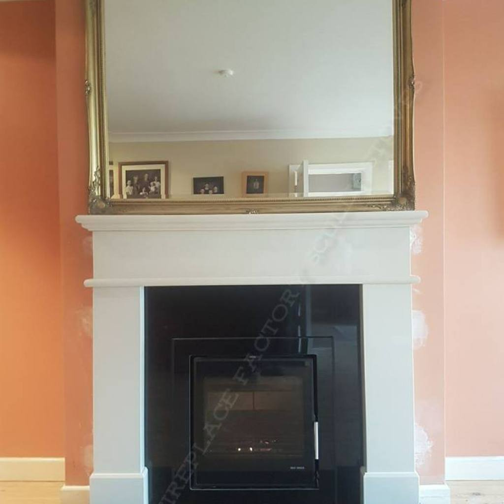 Heat Design Vitea 9kw Insert stove and a Renoir Surround