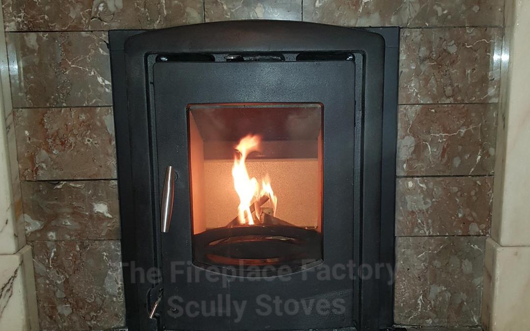 Precision Graphite Inset stove