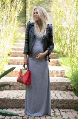 5 Tips to Wearing Clothes in Pregnancy and Postpartum- Form lines and abuse them