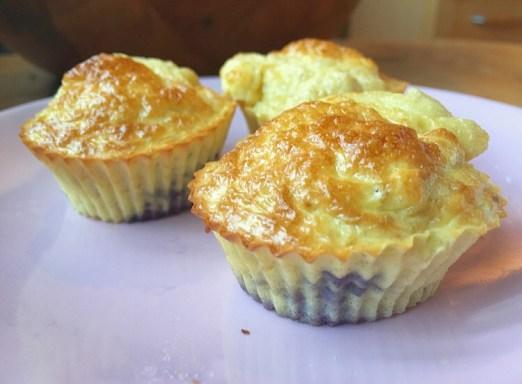 muffins à la whey vanille